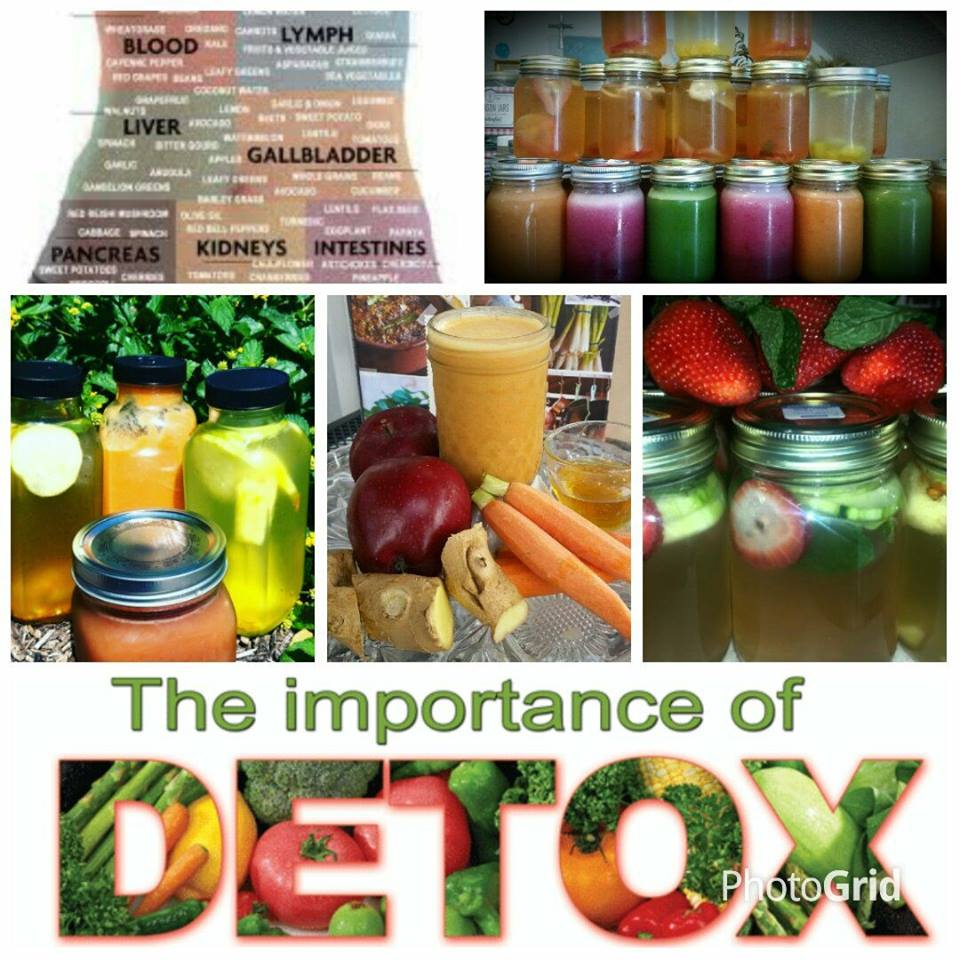 Detox Water and Juice